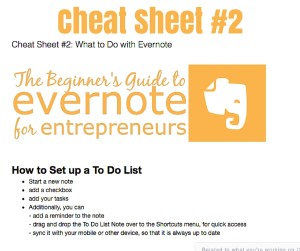 evernote for enterpreneurs