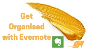 get organised with evernote