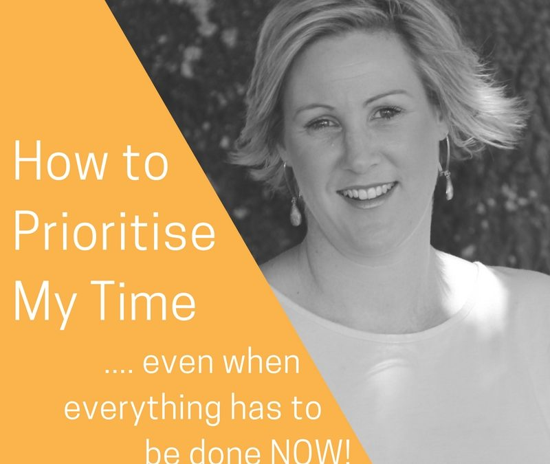 How to Prioritise Your Time