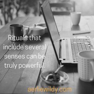 how to create a focus ritual