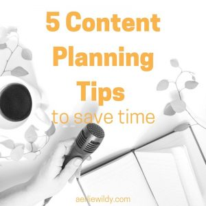 5 Content Planning Tips to Save Time1
