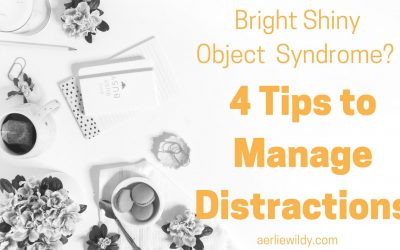 Bright Shiny Objects Syndrome? 4 Tips to Manage Distractions