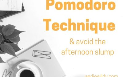 How to use the Pomodoro Technique to manage afternoon distraction