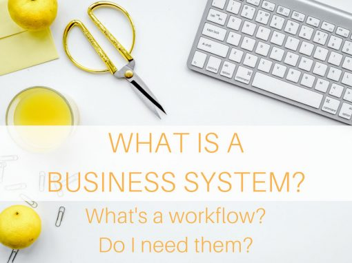 What is a business system