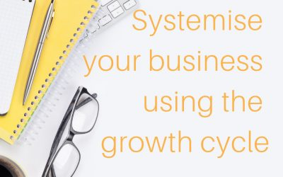 Systemise your business using the growth cycle