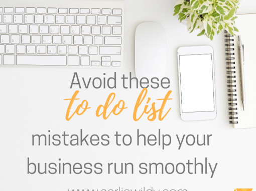 avoid these to do list mistakes