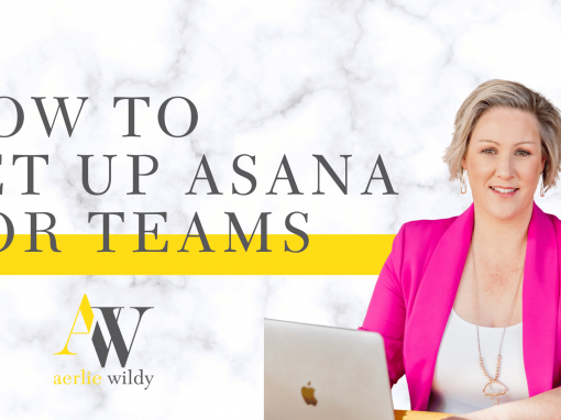 how to set up asana for teams